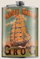 Smooth Sailing Grog Flask