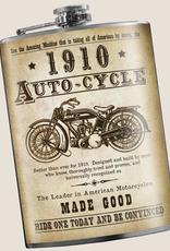 Trixie & Milo Autocycle Vintage Motorcycle Flask