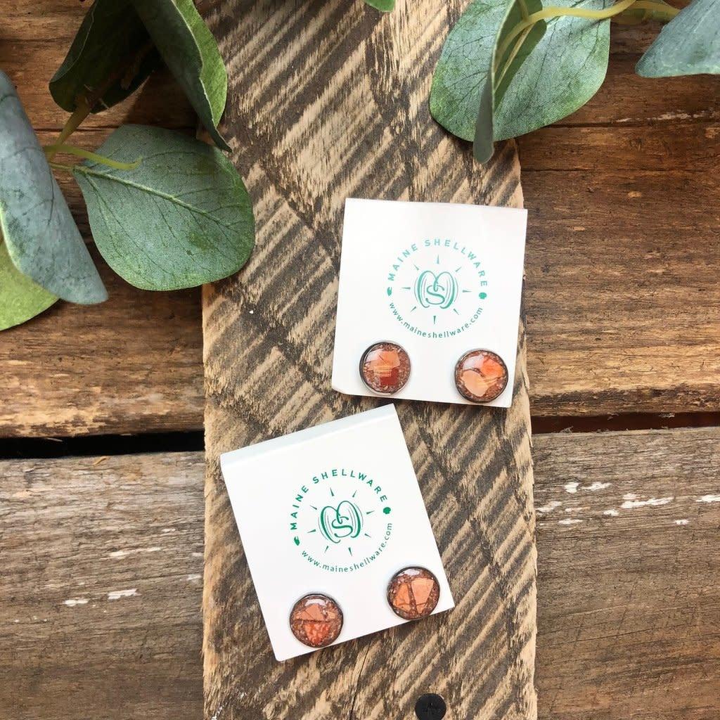 Maine Shellware Maine Shellware Small Stud Earrings