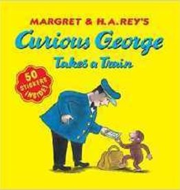 CURIOUS GEORGE TAKES A TRAIN STICKER BOOK