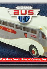 Toronto Gray Coach Lines Yellow Coach 743 Corgi
