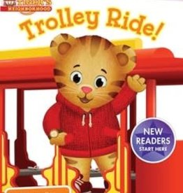 DANIEL TIGER TROLLEY RIDE!