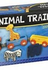 Li'l Chugs Animal Train - Wooden