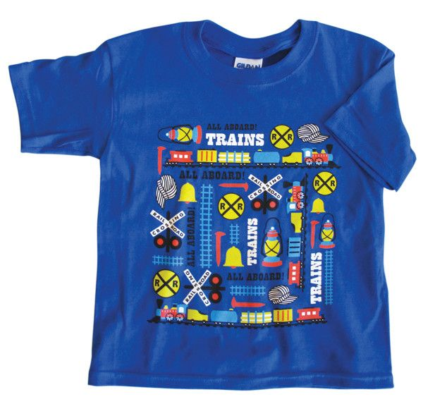 Train Icons Youth T-Shirt
