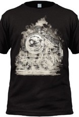 Ghostly Steam Engine Youth Shirt