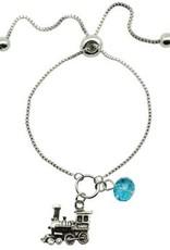 Train Lariat Bracelet - Assorted Colors - Discontinued