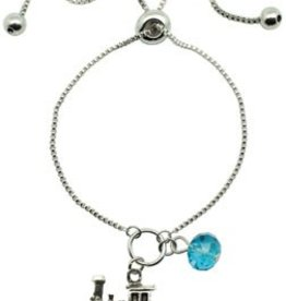 Train Lariat Bracelet - Assorted Colors - Discontinued