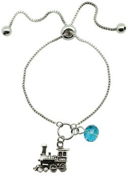 Train Lariat Bracelet - Assorted Colors