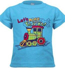 Let's Make Tracks Shirt / Makin' Tracks Onsie