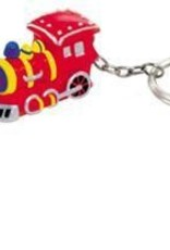 Red Train Key Chain - Discontinued
