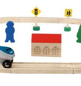 Amtrak Wooden Railway 20 PC Set