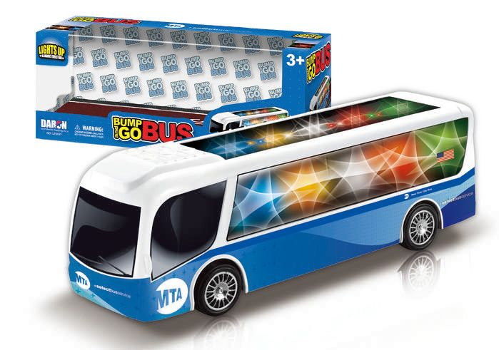 MTA Bump & Go Light & Sound Bus - discontinued