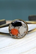Maine Shellware Bronze Seashell Adjustable Cuff Bracelet