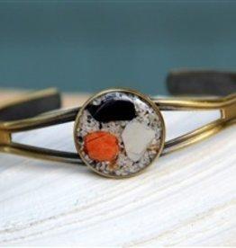 Bronze Seashell Adjustable Cuff Bracelet