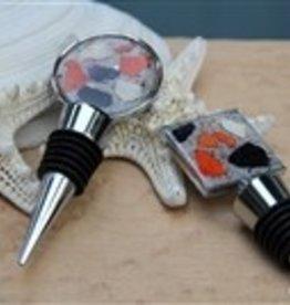 Maine Shellware Seashell Bottle Stopper