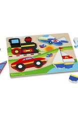 Melissa & Doug Chunky Jigsaw - Vehicles