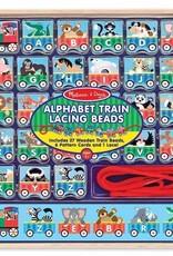 Melissa & Doug Alphabet Train Lacing Beads