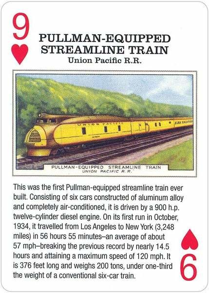 Vintage Railroad Cards