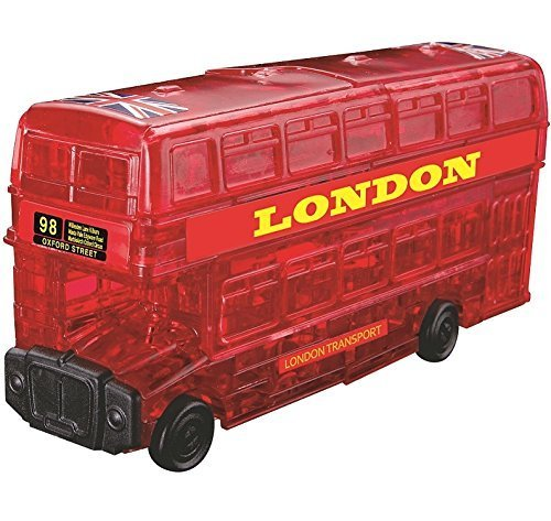 Original 3D- London Bus-Crystal Puzzle
