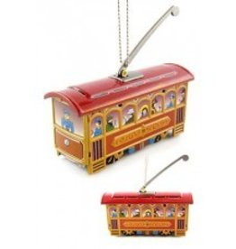 Tin Toy Arcade Chistmas Trolley Ornament - Discontinued