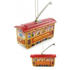 Christmas Trolley Ornament