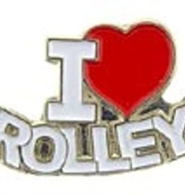 I Love Trolleys Pin