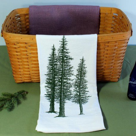 Tea Towel - Pine Tree