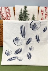 Tea Towel - Mussels&Sand