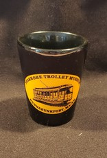 STM Logo 2 oz Black Shot Glass