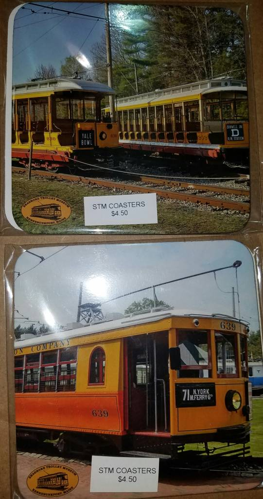 musw STM Car 31, 1160, 639, 838 coasters