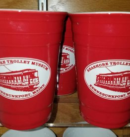 American Crystal STM Ceramic Red Party Cup