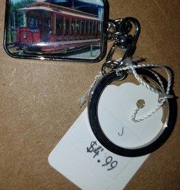 Car 31 Silver Keychain