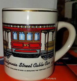 California Street Cable Car Mug