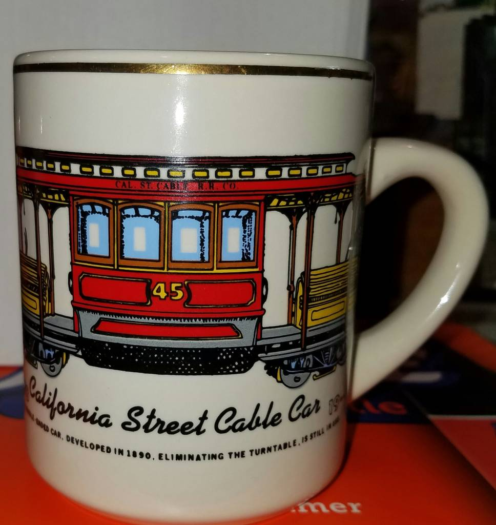 California Street Cable Car Mug