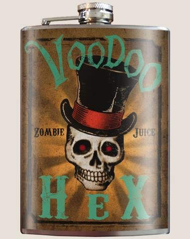 Voodoo Hex Flask