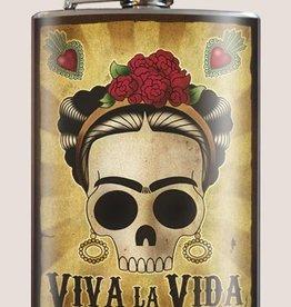 Trixie & Milo Viva la Vida Frida Flask