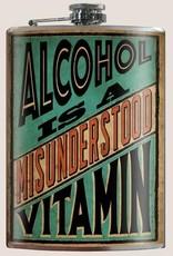 Trixie & Milo Alcohol is a Misunderstood Vitamin Flask