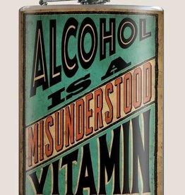 Alcohol is a Misunderstood Vitamin Flask