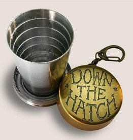 Down the Hatch Shot Glass
