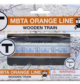 MBTA Orange Line - Wooden