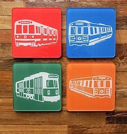 MBTA Coaster Set