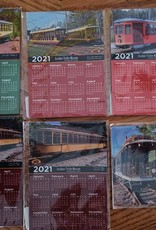 Custom Magnet Calendar 2021   (3.5 x 5 inches)