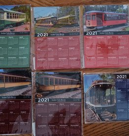 Custom Magnet Calendar 2021  (3.5 x 5 inches)
