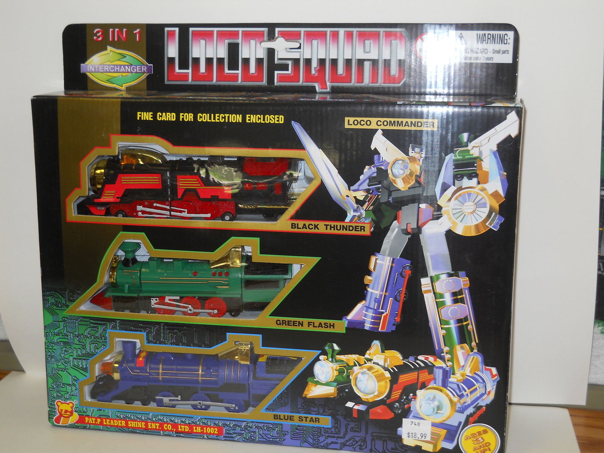 Charles Products Transformers - Loco Squad