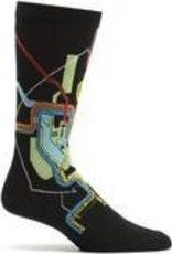 DC Metro Subway Map Sock