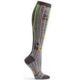New York City Map Knee High Sock