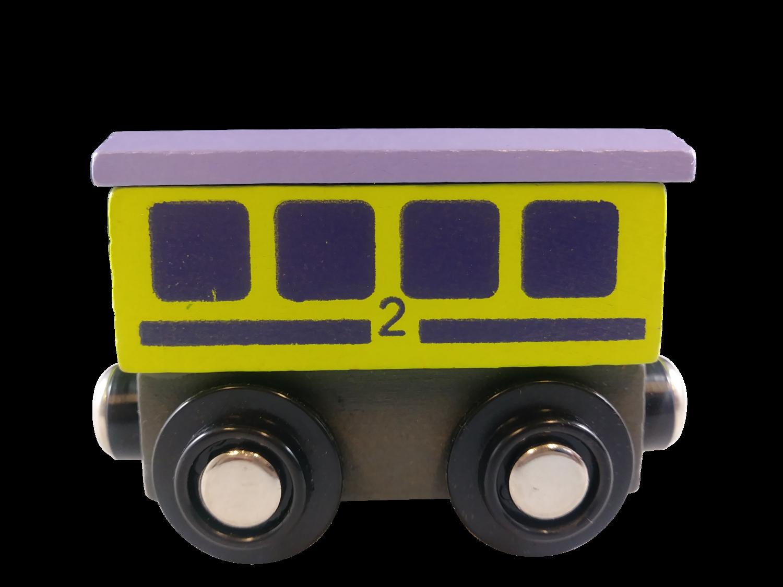 Wood Train Cars