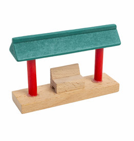 3T Rail Products Wood Waiting Station