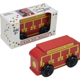 Daniel Tiger Track Size Trolley (Mr. Rogers)
