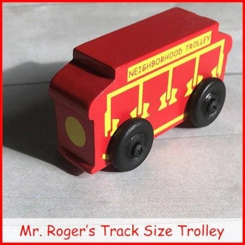 Daniel Tiger Track Size Trolley (Mr. Rogers)